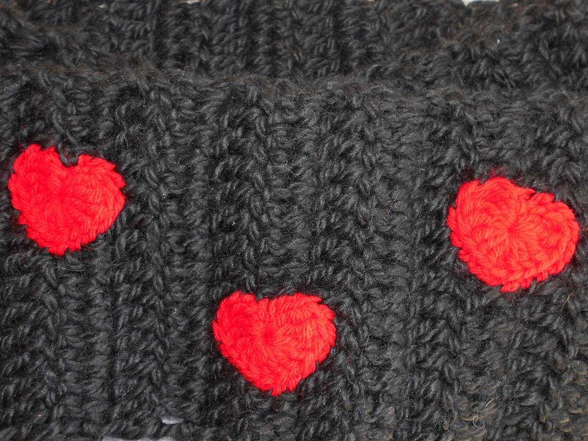 bufanda de blancanieves para niños tejida a crochet
