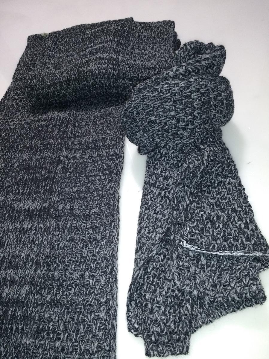 57cfed559d942 bufanda de lana gruesa tejida con ochos. Cargando zoom.