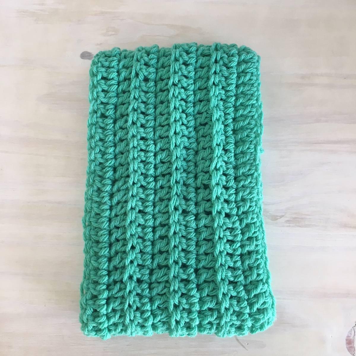 Bufanda Infinita Circular A Crochet - $ 100,00 en Mercado Libre