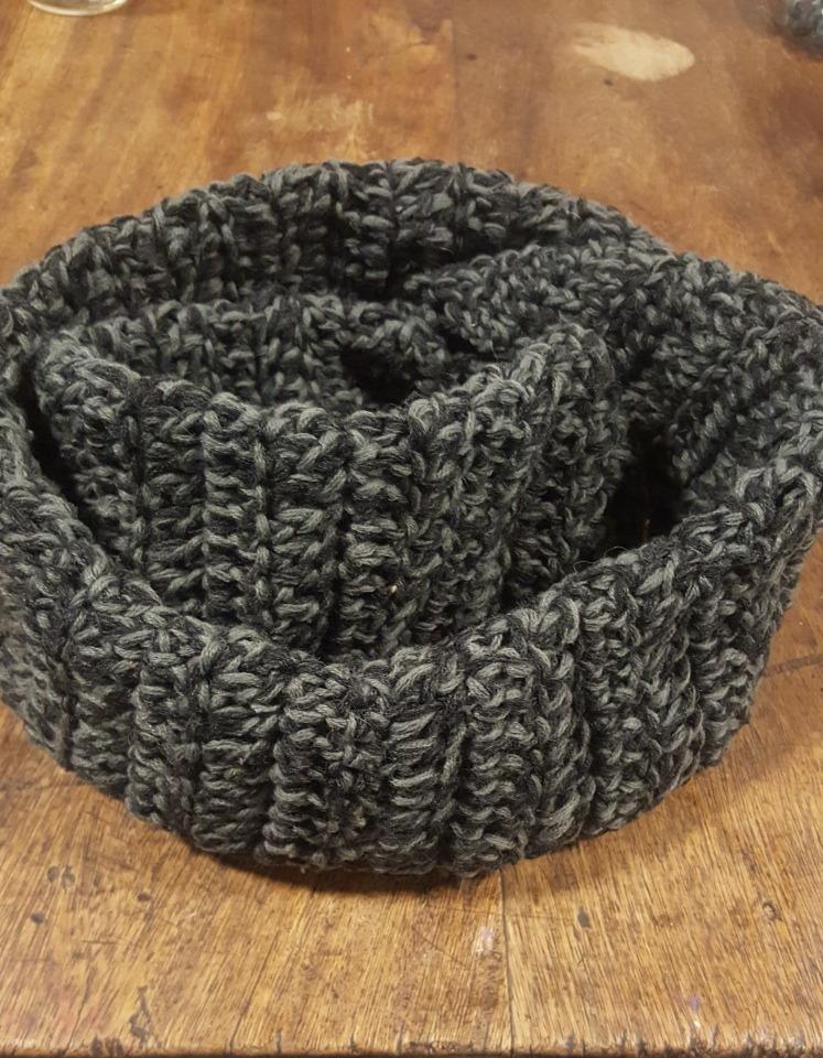 Bufanda Infinita O Cuello Dos Vueltas. Tejido Crochet - $ 230,00 en ...