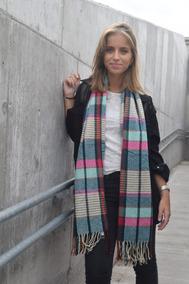 venta minorista e15f9 4724a Bufanda Mujer Bufandon Grande Abrigo Moda Invierno Importado