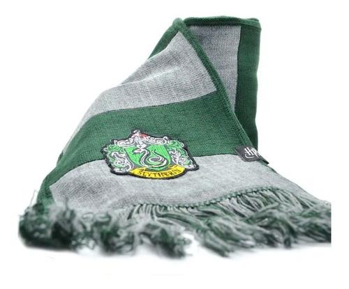 bufanda oficial de harry potter - slytherin