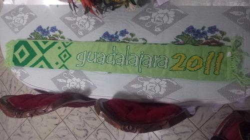 bufanda originales juegos panamericanos guadalajara 2011