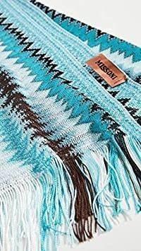 bufanda pequeña en zigzag para mujer missoni