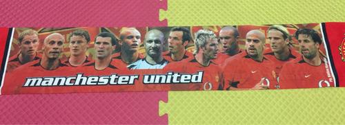 bufanda real madrid beckham manchester united nike adidas