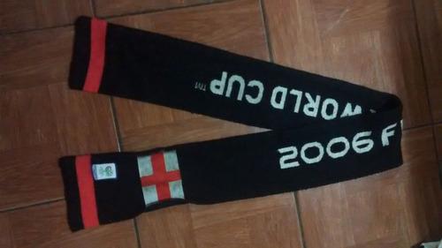 bufanda selección inglaterra, mundial alemania 2006,original