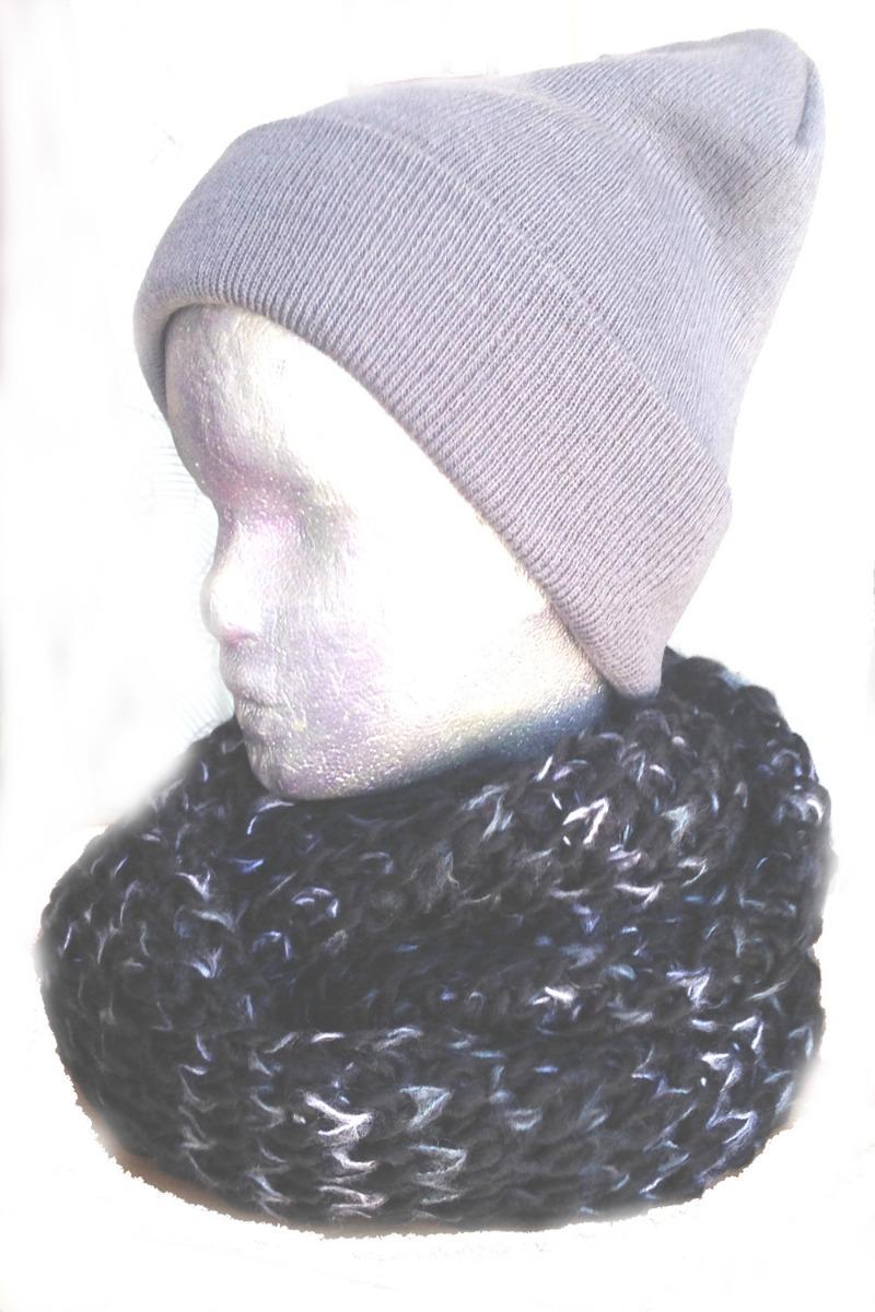 Bufanda Tejida Circular Cuello Pack X10 Increible Oferta - $ 1.200 ...