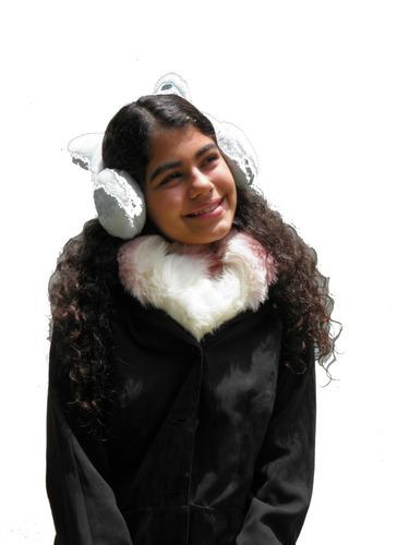 bufanda tipo piel d zorro ultra soft 10verdes