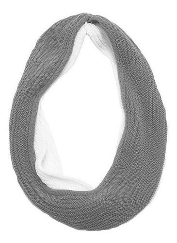 bufanda tubular de lana doble vuelta