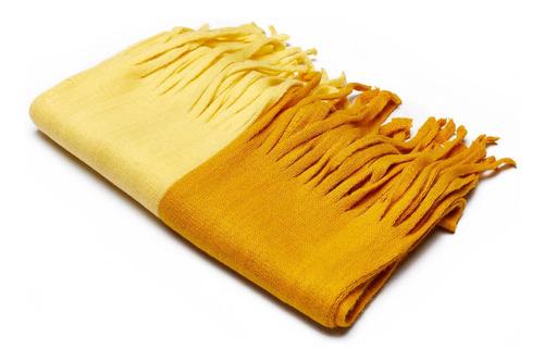 bufanda yellow passion mujer lounge