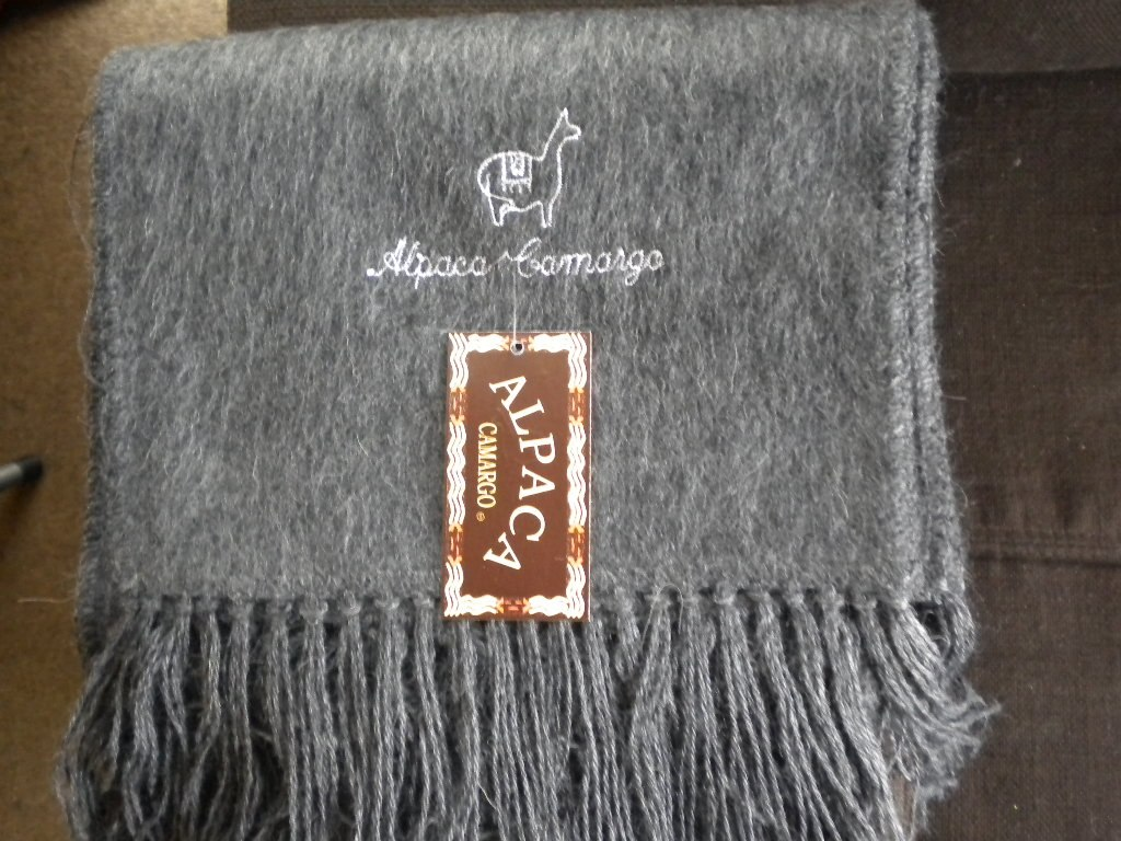 minorista online 443e4 21ad0 Bufandas Alpaca Camargo, Unisex , Diversos Colores