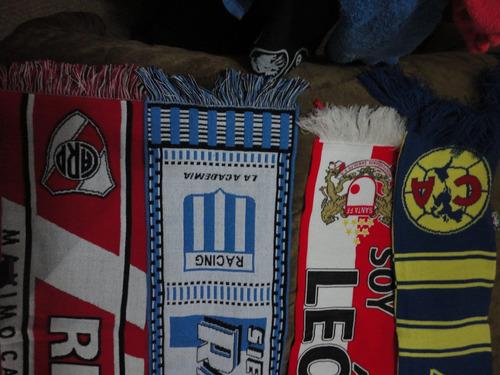 bufandas de futbol originales
