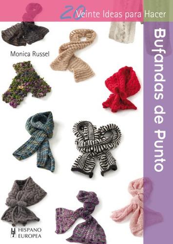 bufandas de punto(libro )