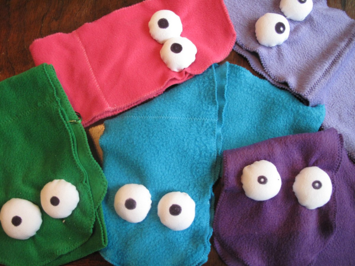 bufandas divertidas para nios y nias