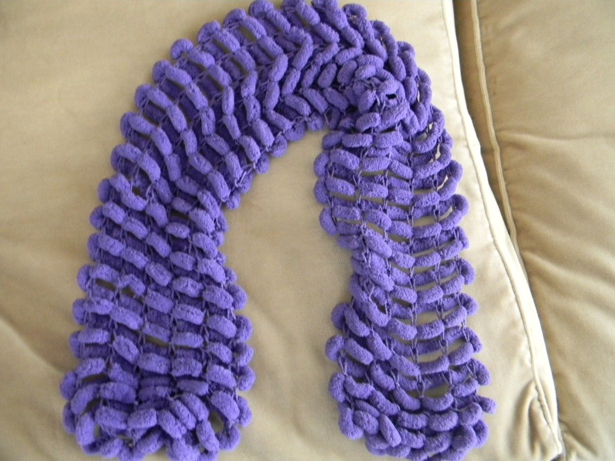 bufandas en lana hechas a mano hermosas!!! hipoalergenicas