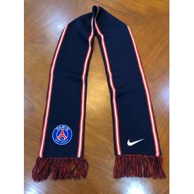 7fd0697e3 Bufanda Nike Psg Paris Saint Germain Azul Doble Vista Blanco