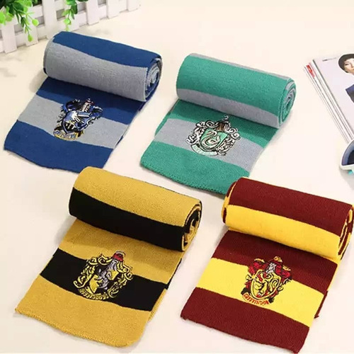 bufandas harry potter todas las casas