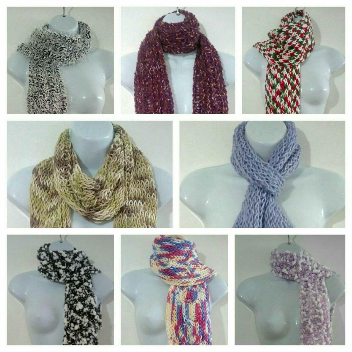 Bufandas largas de lana tejidas en telares bs - Bufandas de lana originales ...