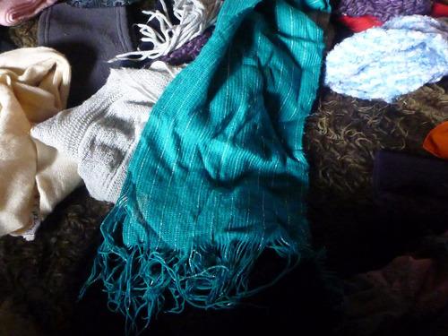 bufandas lote por 24 todo por $299