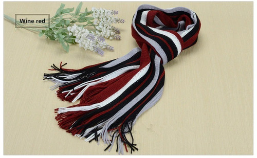 bufandas moda hot colores algodón rayas unisex caliente fina