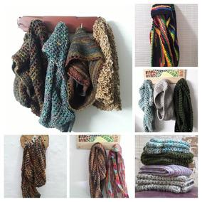 60e824a2fa0c9 Bufandas Tejidas En Crochet en Mercado Libre Colombia