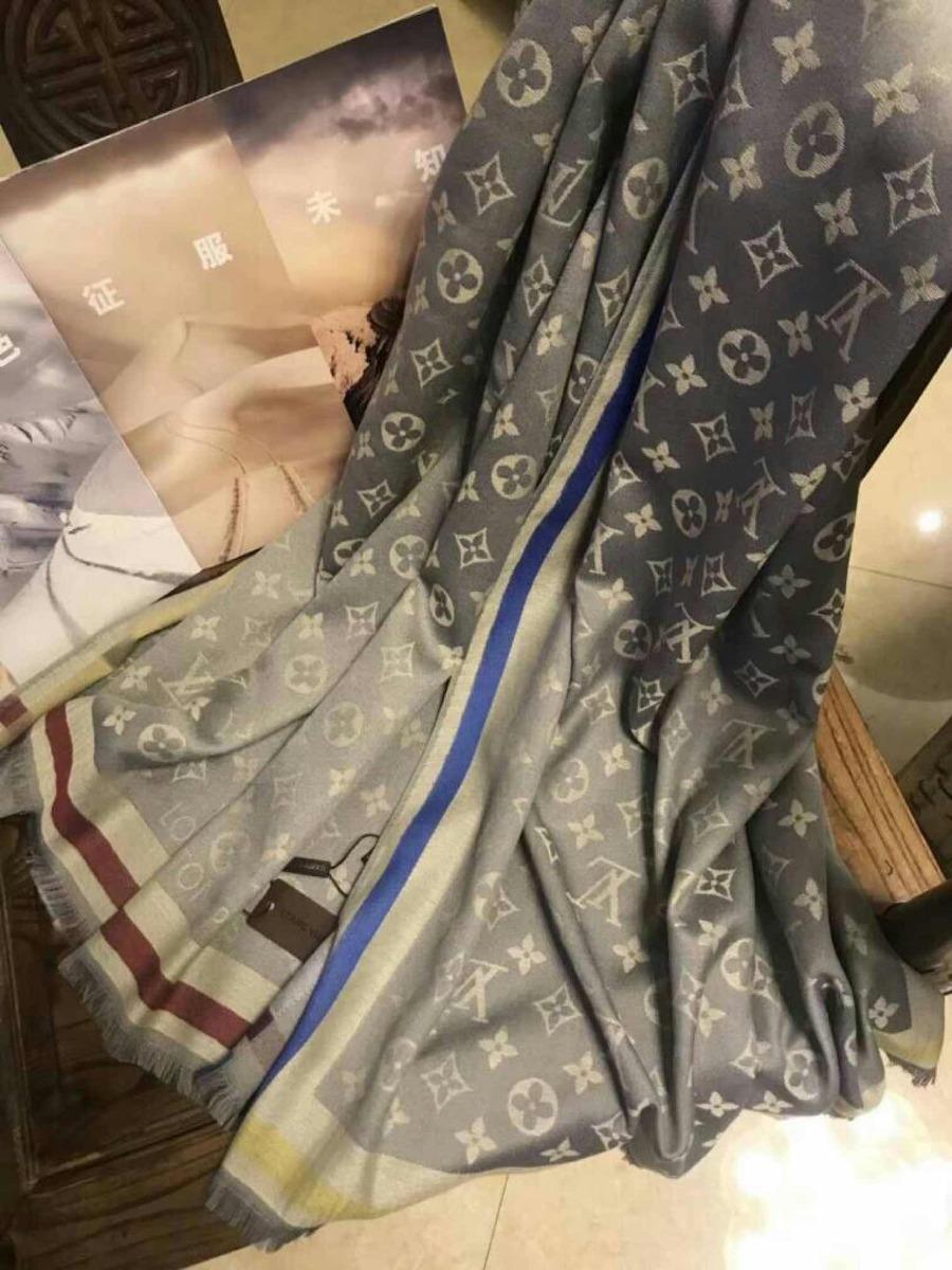 a01e3820 Bufandas Pañuelos Louis Vuitton Lujosas