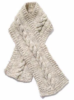 bufandas tejidas a mano de mujer y de hombre