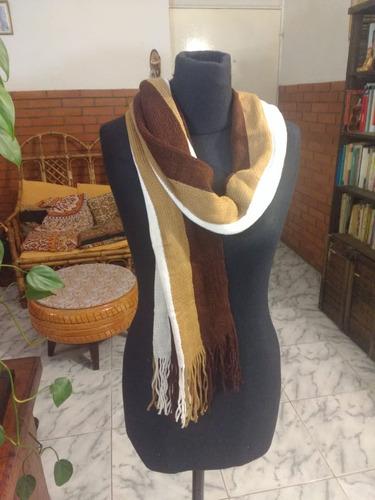 bufandas tejidas abrigadas. varios modelos