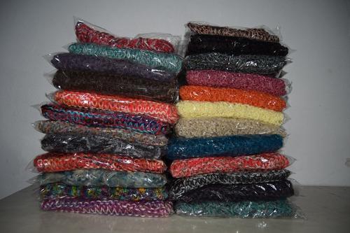 bufandas tejidas artesanales 16