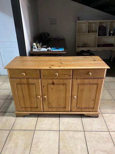 bufetera , cómoda , mueble para tv , importado de madera.