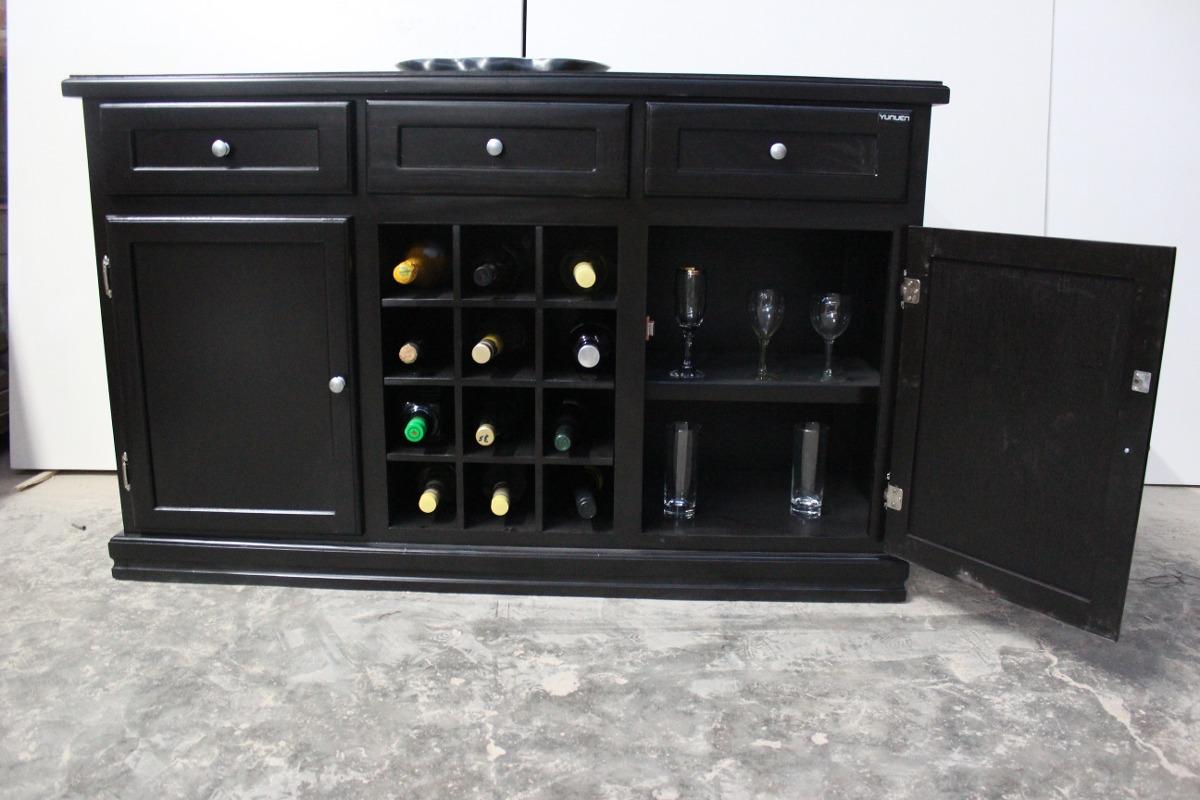 Bufetero Cava Muebles Para El Hogar Multiusos Botellero  # Muebles En Jojutla Morelos
