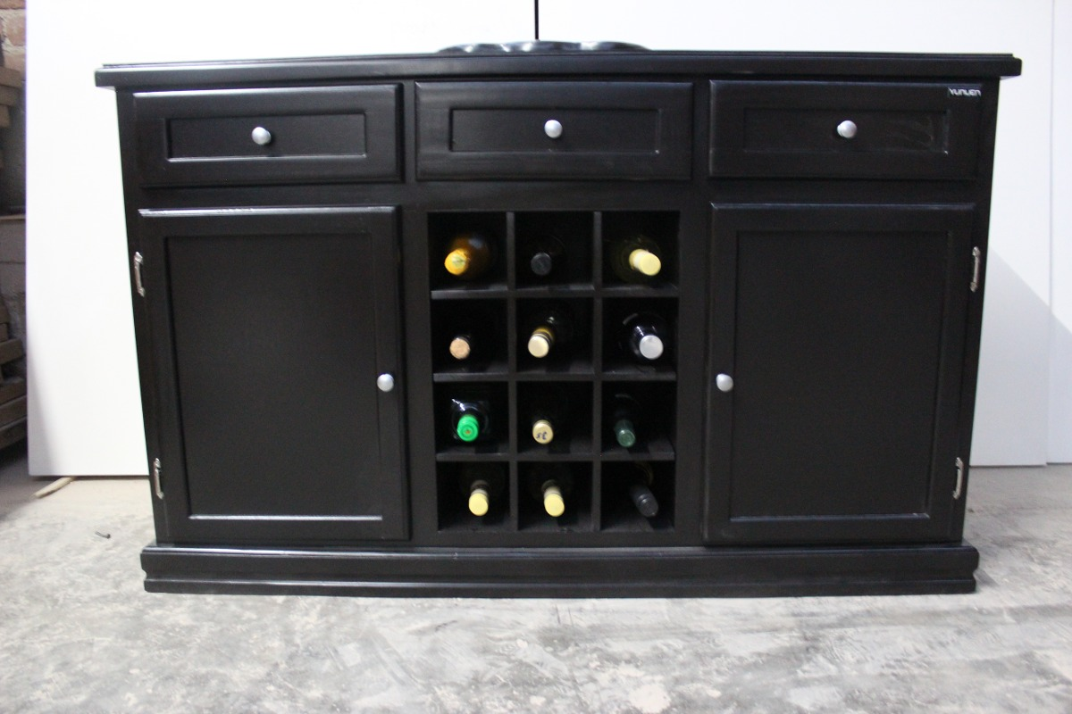 Bufetero cava muebles para el hogar multiusos botellero 3 en mercado libre - Muebles para el hogar ...