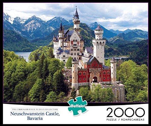 buffalo games castillo de neuschwanstein bavaria 2000 piece