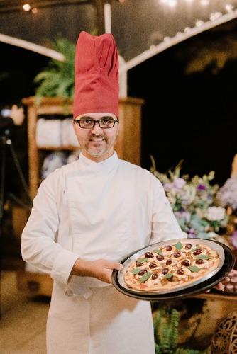 buffet a domicílio - buffet de pizza - buffet massa - risoto