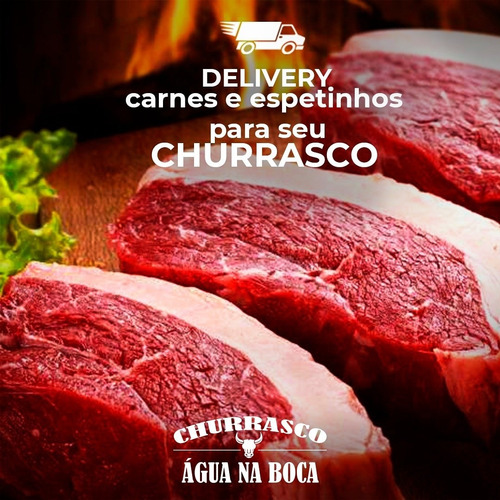 buffet churrasco, delivery ou churrasqueiro