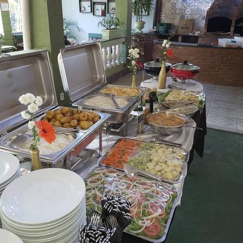 buffet completo de churrasco