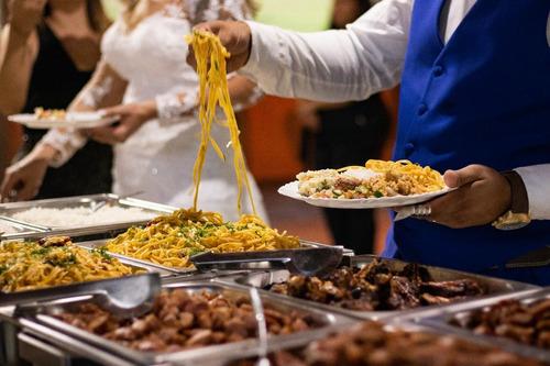 buffet completo pagando somente a mão de obra especializada.