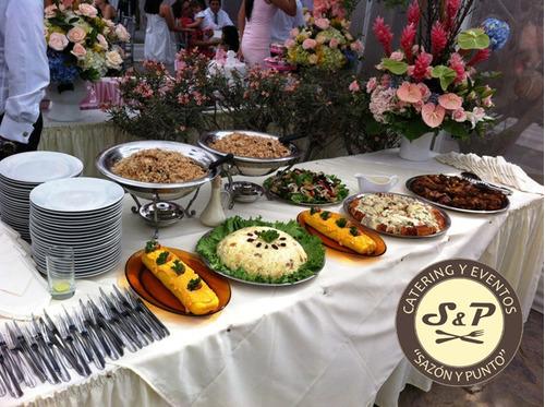 buffet criollo y cenas para tu reunión o empresa. evento