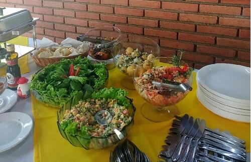 buffet de churrasco completo em domicílio
