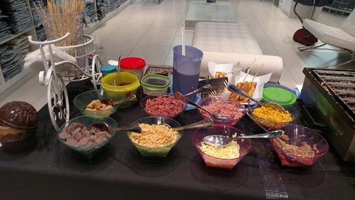 buffet de crepe,tapioca & decoração