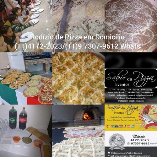 buffet domicílio pizza crepe churrasco à partir de r$19,90