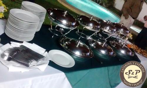 buffet gourmet,catering,boda, 15 años eventos a domicilio