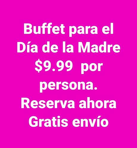 buffet para el día de las madres