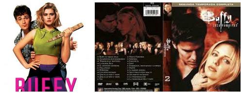 buffy: a caça vampiros 2ª temporada + filme - frete grátis