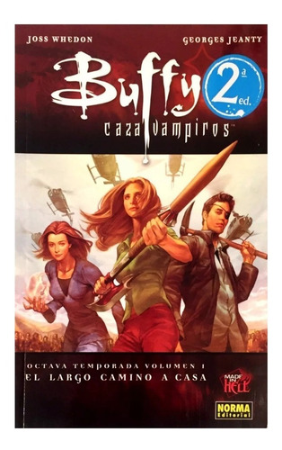 buffy la cazavampiros - 8va temporada - vol. 1 - ed. norma