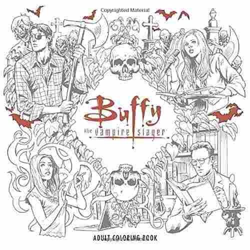 Buffy The Vampire Slayer Libro Para Colorear Adulto - $ 83.820 en ...