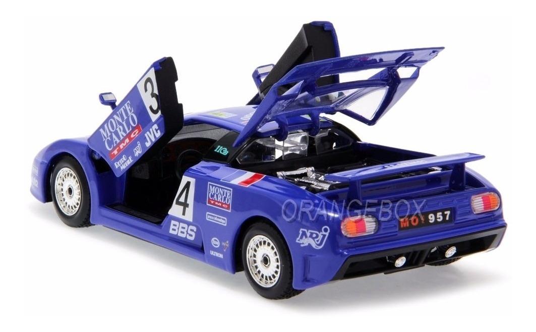 Bugatti Eb 110 Super Sport #34 24h Le Mans 1994 1:24 ...