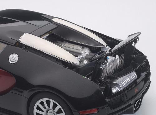 bugatti eb 16.4 veyron escala 1:18 autoart 70909