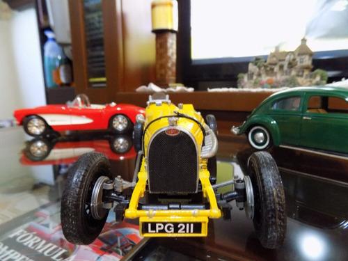bugatti type 59 1934 rally- burago 1/18 único en su versión!
