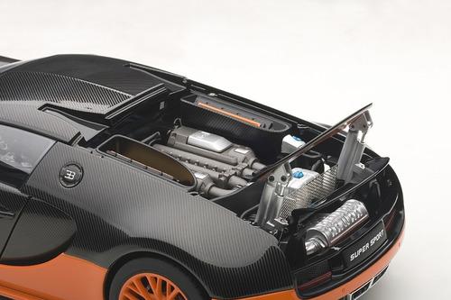 bugatti veyron 16.4 super sport carbon black